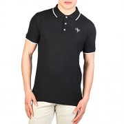 Cesare Paciotti Plo_M2_Nero Polo - Shirts - $33.99