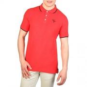 Cesare Paciotti Plo_M2_Rosso Polo - Shirts - $33.99