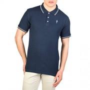Cesare Paciotti Plo_M4_Navy Polo - Shirts - $33.99
