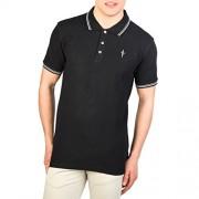 Cesare Paciotti Plo_M4_Nero Polo - Shirts - $33.99
