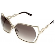 Cesare Paciotti Sunglasses Womens CPS 152 010 Rose Gold Rectangle - Eyewear -