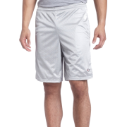 Champion  Men's Long Mesh Short With Pockets Athletic Gray - Shorts - $5.69