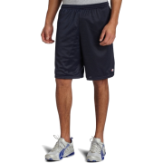 Champion  Men's Long Mesh Short With Pockets Navy - Shorts - $5.69