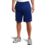 Champion  Men's Long Mesh Short With Pockets Stadium Blue - Shorts - $5.69