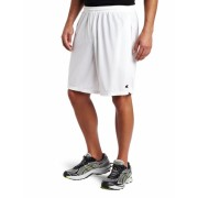Champion  Men's Long Mesh Short With Pockets White - Shorts - $5.69