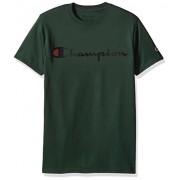 Champion Men's Classic Jersey Script T-Shirt - Shirts - $12.56