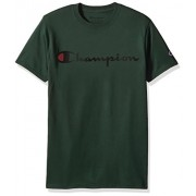 Champion Men's Classic Jersey Script T-Shirt - T-shirts - $10.53