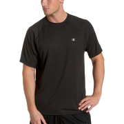 Champion Men's Double Dry Training T Shirt Black - T-shirts - $9.45