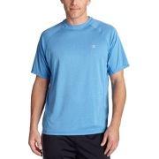 Champion Men's Double Dry Training T Shirt Light Blue - T-shirts - $9.45
