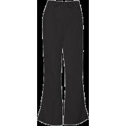 Cherokee 4101 Low Rise Flare Scrub Pant Black - Pants - $14.99