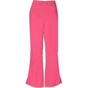 Cherokee 4101 Low Rise Flare Scrub Pant Carnation Pink - Pants - $14.99