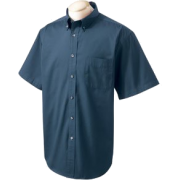 Chestnut Hill 32 Singles Sort Sleeve Twill Shirt. CH505 Navy - T-shirts - $15.13