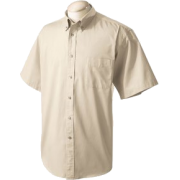 Chestnut Hill 32 Singles Sort Sleeve Twill Shirt. CH505 Stone - Camisola - curta - $15.13  ~ 12.99€