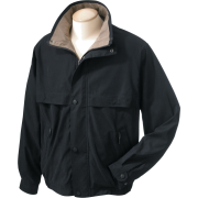 Chestnut Hill CH850 Lodge Microfiber Jacket Black/Surplus - Jacket - coats - $33.32