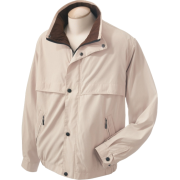 Chestnut Hill CH850 Lodge Microfiber Jacket Stone/Espresso - Jacket - coats - $33.32