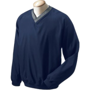 Chestnut Hill Men's V-Neck Wind Shirt. CH800 New Navy - Long sleeves t-shirts - $10.16