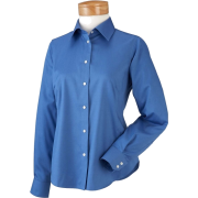 Chestnut Hill Women's Executive Performance Pinpoint Oxford. CH620W French Blue - Long sleeves shirts - $29.99