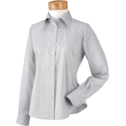 Chestnut Hill Women's Executive Performance Pinpoint Oxford. CH620W Silver Grey - Long sleeves shirts - $29.99