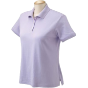 Chestnut Hill Women's Short Sleeve Ladies Caoe Cod Jersey Polo Shirt CH170W Azalea/Azalea - T-shirts - $2.80