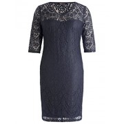 Chicwe Women's Plus Size Lined Floral Lace Dress - Knee Length Casual Party Cocktail Dress - Dresses - $66.00