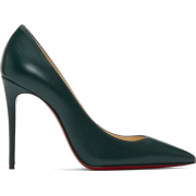 Christian Louboutin Green Nappa Kate Hee - Uncategorized -