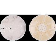 Circle Lace Nipple Cover - Light Beige - Underwear - $5.00