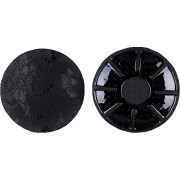 Circle Lace Nipple covers - Black - Underwear - $5.00