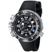 Citizen Eco-Drive Men's BN2029-01E Promaster Aqualand Depth Meter Analog Display Black Watch - Relógios - $950.00  ~ 815.94€