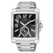 Citizen Men's BV1040-55E Eco-Drive Stainless Steel Rectangular Black Dial Watch - Relógios - $299.00  ~ 256.81€