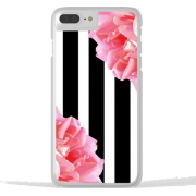 Clear iPhone Case Roses Stripes Society6 - Accessories - $35.99