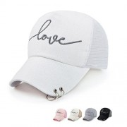 Clearance!! WILLTOO Women LETTER LOVE Baseball Cap Mesh Snapback Hat - Cap - $3.99