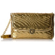 Cole Haan Genevieve Clutch Gold - Hand bag - $156.88
