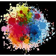 Color splash - Ilustrationen -