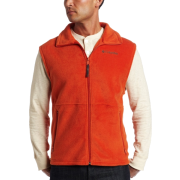 Columbia Men's Cathedral Peak Vest Burnt orange - Vests - $15.29