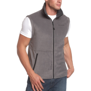 Columbia Men's Cathedral Peak Vest Charcoal - Vests - $15.29