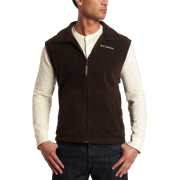 Columbia Men's Cathedral Peak Vest Cordovan - Vests - $15.29