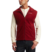 Columbia Men's Cathedral Peak Vest Red element - Vests - $15.29