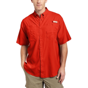 Columbia Men's Tamiami II Short Sleeve Shirt Autumn OrangeSize: - Shirts - $31.00
