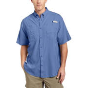 Columbia Men's Tamiami II Short Sleeve Shirt Bright BluetSize: - Shirts - $31.00
