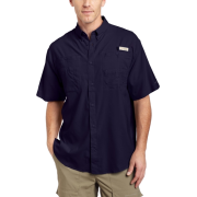 Columbia Men's Tamiami II Short Sleeve Shirt Eclipse BlueSize: - Shirts - $31.00