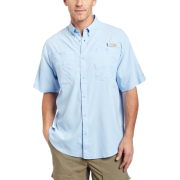 Columbia Men's Tamiami II Short Sleeve Shirt FossilSize: - Shirts - $31.00