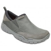 Crocs Men's Swiftwater Edge Moc Slip-On - Shoes - $24.49