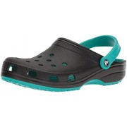 Crocs Unisex Classic Carbon Graphic Clog - Shoes - $24.47