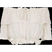 Cropped Blouse - LES LIS BLANC - T-shirts -