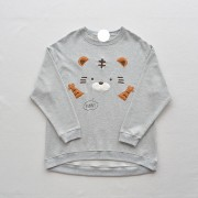 Cute cerebellary axe patch embroidery ro - Pullovers - $25.99