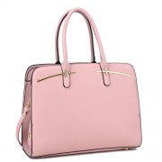 DASEIN Women Briefcase Handbag Large Satchel Purse Designer Structured Work Bag with 3 Compartments - Hand bag - $29.99
