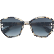 DIOR EYEWEAR oversized sunglasses - Sunglasses - $424.00