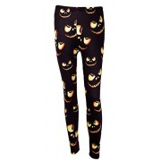 DREAGAL New Halloween Fashion 3D Digital Print Stretchy Leggings Multi-Colored S-3X - Pants - $7.96