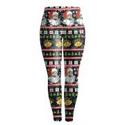 DREAGAL Women's Digital Print Ankle Length Footless Design Leggings - Pants - $30.99