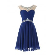 DRESSTELLS Short Prom Dresses Sexy Homecoming Dress Chiffon Birthday Party Dress - Vestidos - $15.99  ~ 13.73€